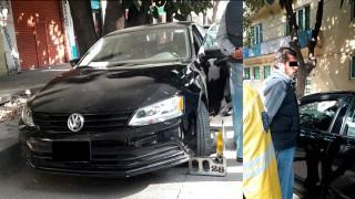 Asegura SSP-CDMX a un hombre por agresiones contra un policía en la delegación Cuautémoc