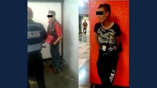 EN DOS DIFERENTES ACCIONES EN LA LÍNEA 2 DEL METRO, PBI-CDMX DETUVO A DOS IMPUTADOS POR EL DELITO DE ABUSO SEXUAL