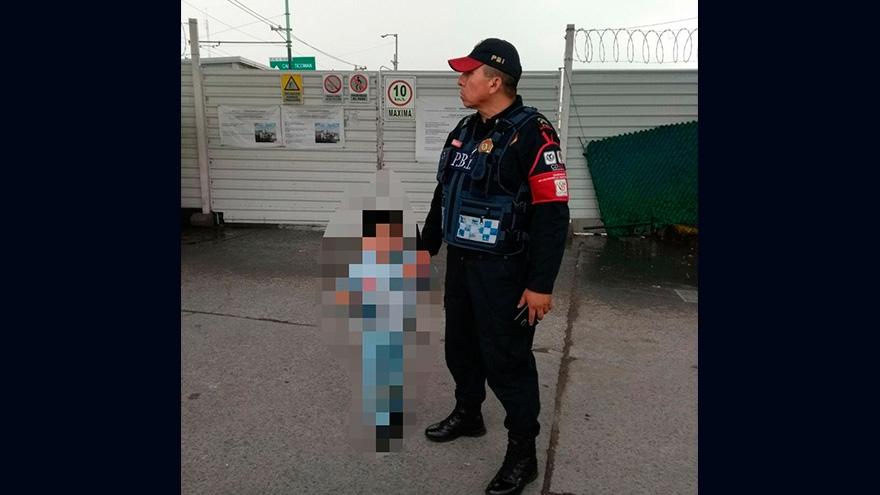 Policías de la SSP-CDMX apoyaron a un niño de cuatro años extraviado en Martín Carrera